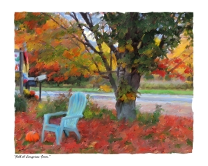 Fall, Longview Farm, New Hampshire