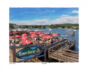 Town Docks, Meredith, New Hampshire