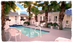 Poolside Bungalow Beach