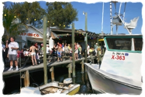 Fun on the Dock - Cortez Fishing Village, Cortez, Florida