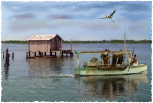 Heading Out - Cortez Fishing Village, Cortez, Florida